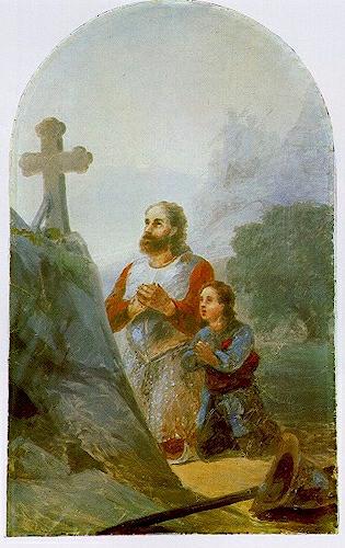 Вардан Мамиконян перед битвой
